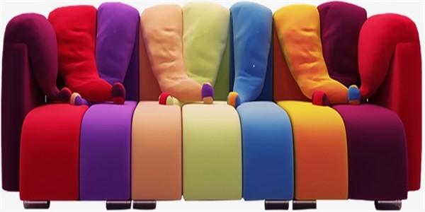 color sofa
